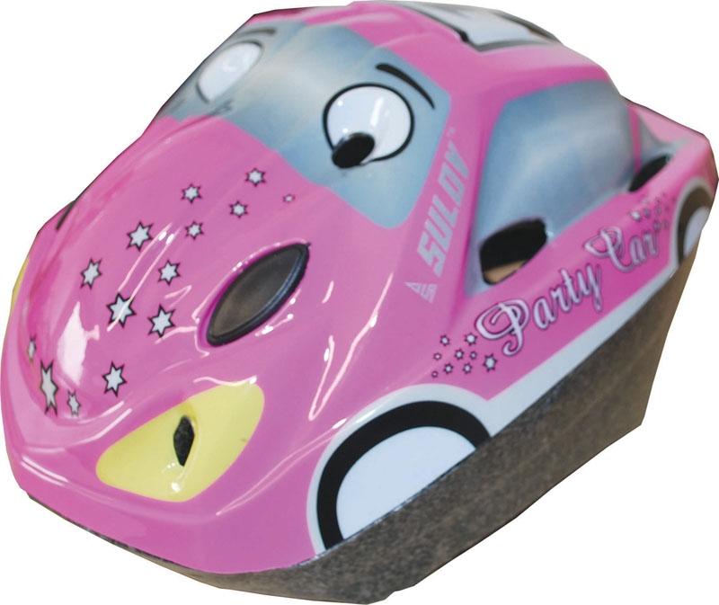 Dětská cyklo helma SULOV CAR, růžová