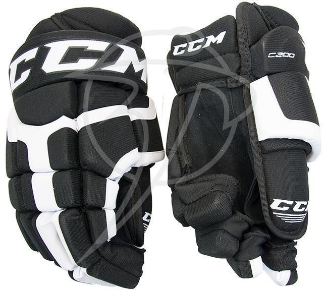Hokejové rukavice CCM C200 černé látkové 12
