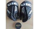 Hokejové rukavice VIC 2,5 PPS černé látkové 13