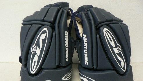 Hokejové rukavice VIC 3,5 PPS červenočerné celokožené 13