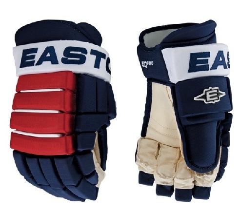 Hokejové rukavice EASTON SYNERGY EQ PRO modré látkové 14