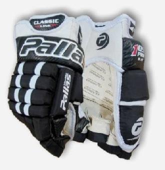 Hokejové rukavice Pallas 105 Pro černé látkové 14