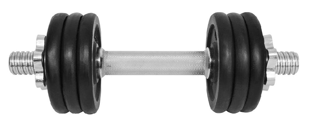 Činka nakládací LIFEFIT jednoruční 8 kg, 30mm tyč/6x kotouč