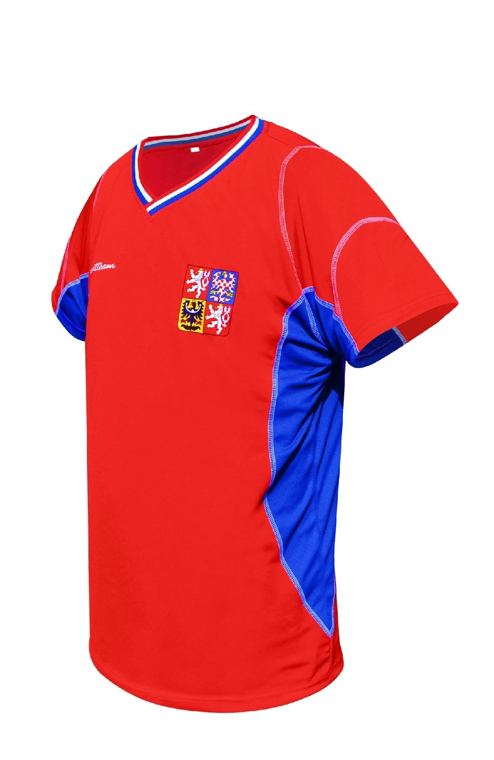 Fotbalový dres ČR 1 červený