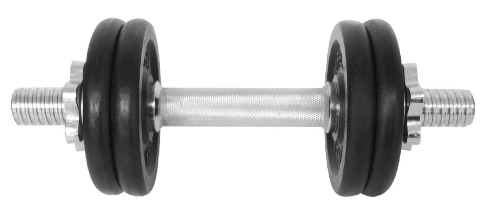 Činka nakládací LIFEFIT jednoruční 8 kg, 30mm tyč/4x kotouč