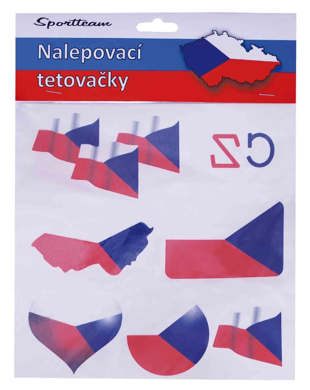 Tetovací obtisky ČR 1