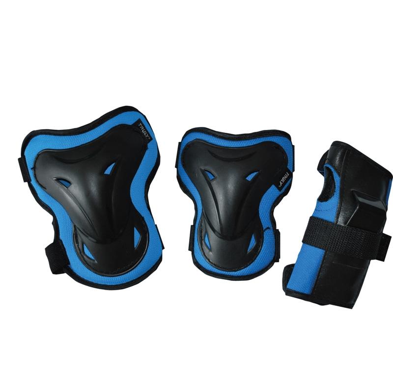 In-line chrániče TRULY SHELTER sada - modré