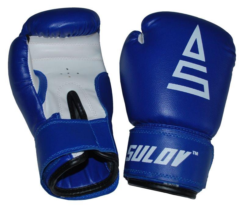 Box rukavice SULOV, PVC, modro-bílé