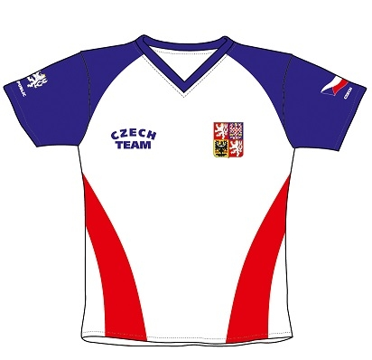 Fotbalový dres ČR 3 dětský