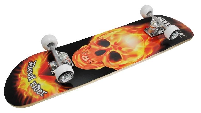 Skateboard SULOV TOP - DEVIL, vel. 31x8