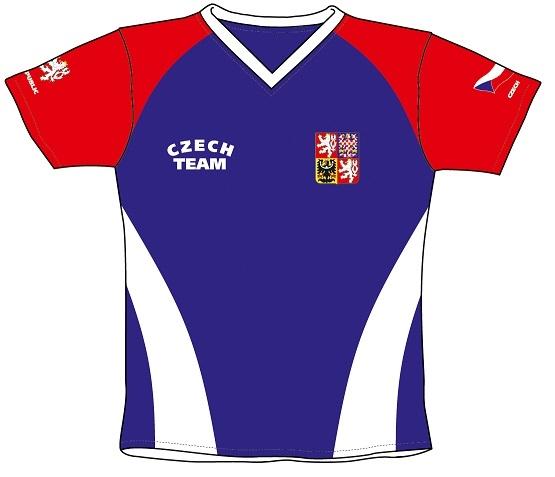 Fotbalový dres ČR 4 dětský