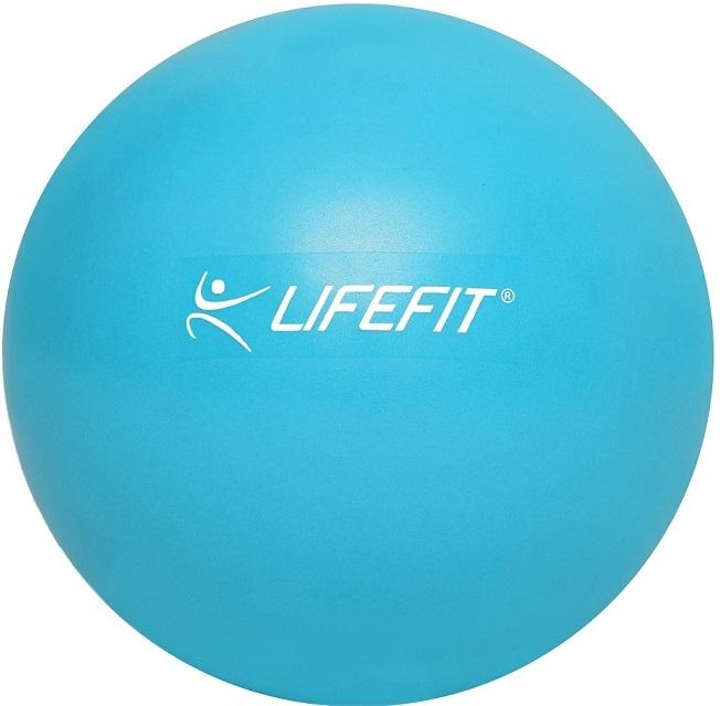 Aerobní míč  OVERBALL LIFEFIT 25cm,  světle modrý