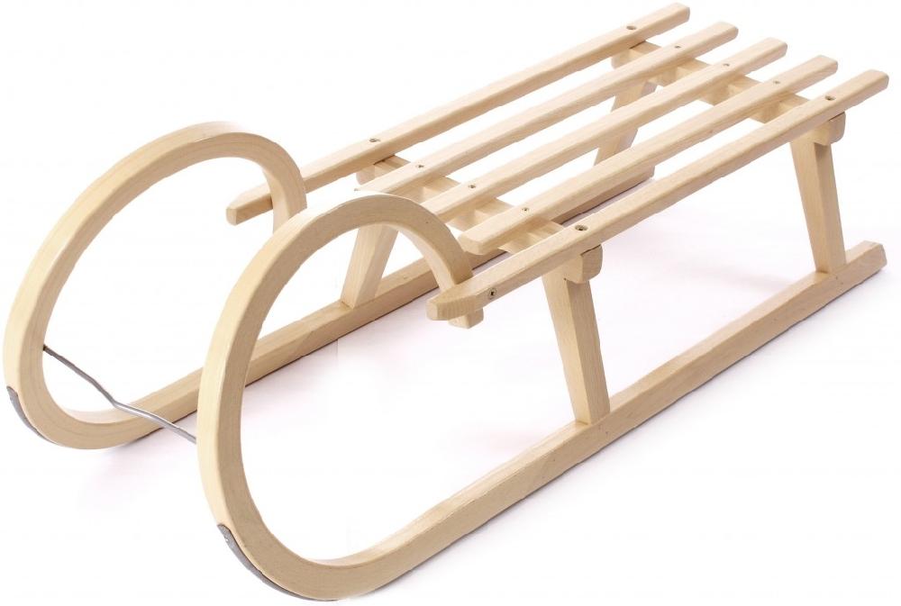 Dřevěné saně SULOV ROHAČKY, 90 cm