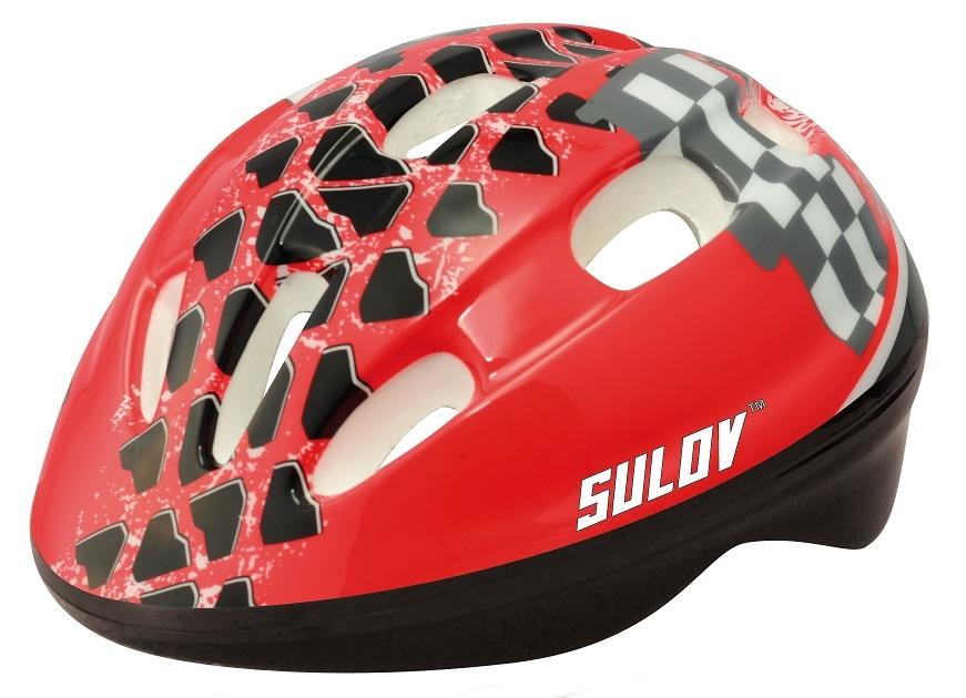 Dětská cyklo helma SULOV JUNIOR, červená