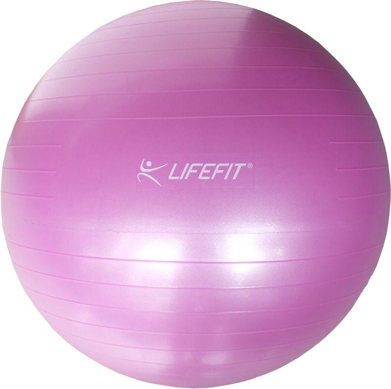 Gymnastický míč LIFEFIT ANTI-BURST 85 cm, růžový