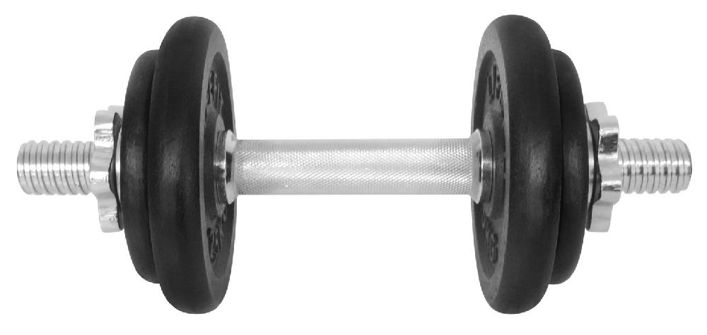 Činka nakládací LIFEFIT jednoruční 9 kg, 30mm tyč/4x kotouč