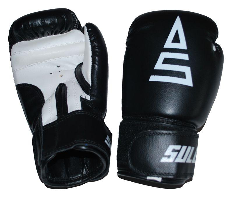 Box rukavice SULOV, PVC, černo-bílé