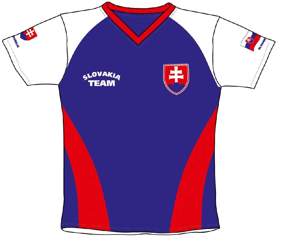 Fotbalový dres SR 2