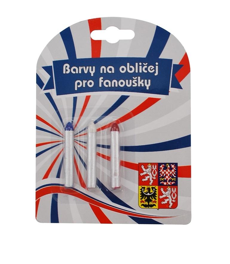 Barvy na obličej ČR 4 tužky