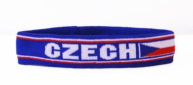 Čelenka pletená ČR