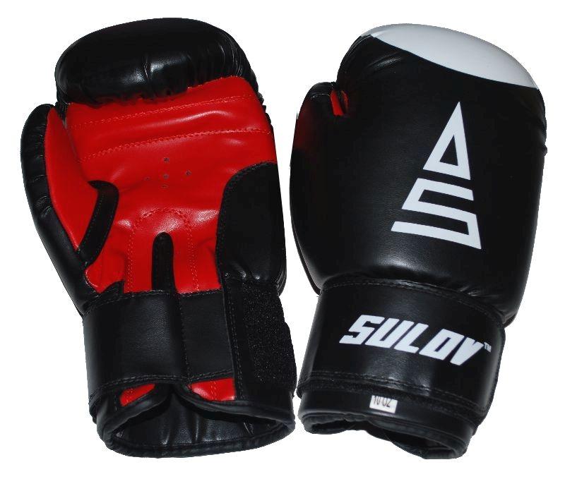 Box rukavice SULOV, DX, černo-červené