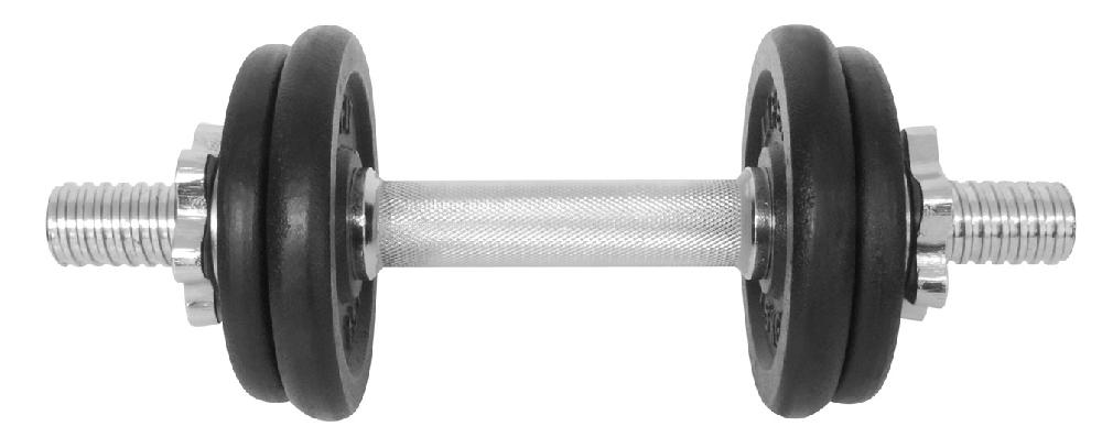 Činka nakládací LIFEFIT jednoruční 7 kg, 30mm tyč/4x kotouč