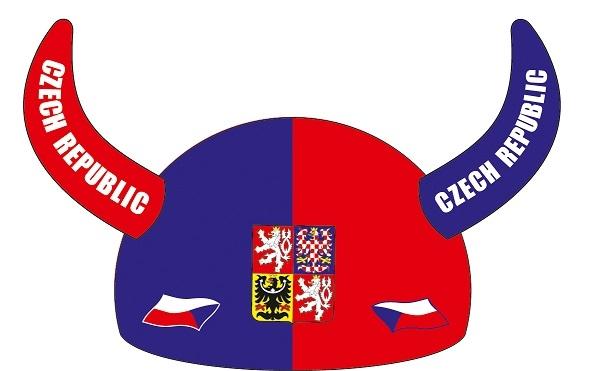 Klobouk rohy ČR 4