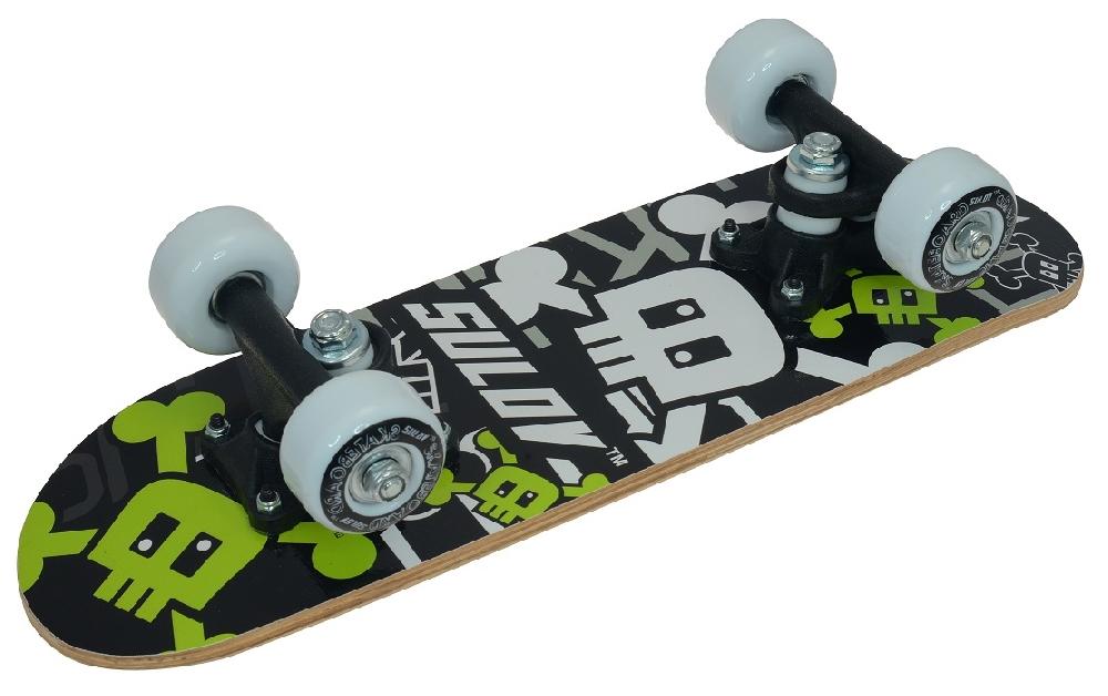 Skateboard SULOV MINI 1 - SKULL, vel. 17x5