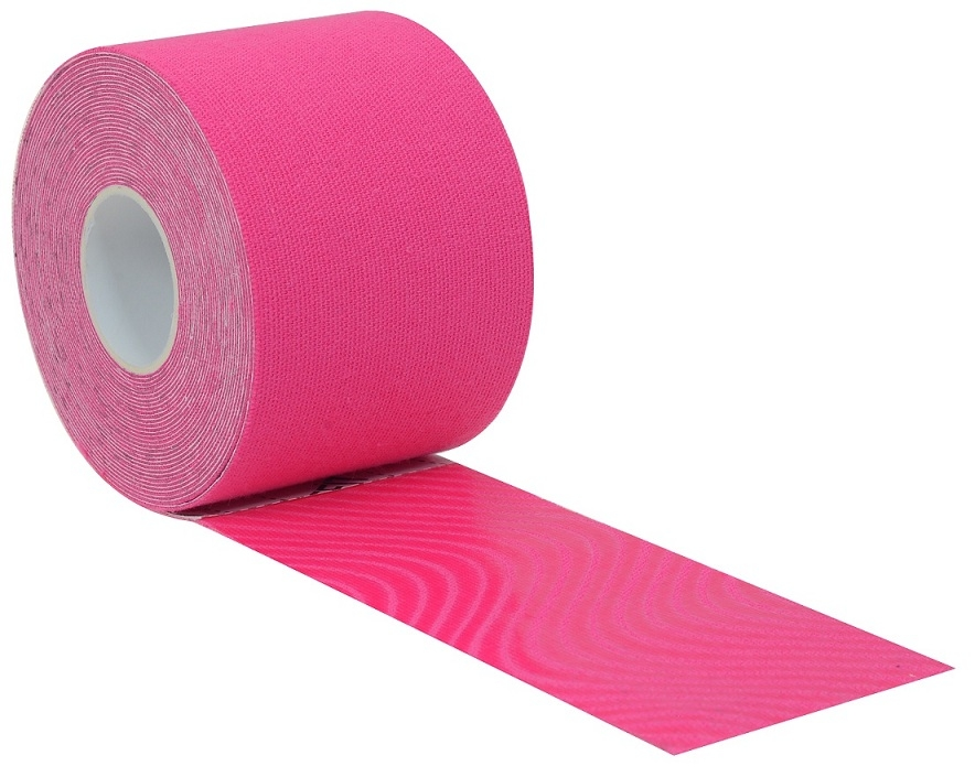 KinesionLIFEFIT tape 5cmx5m, růžová