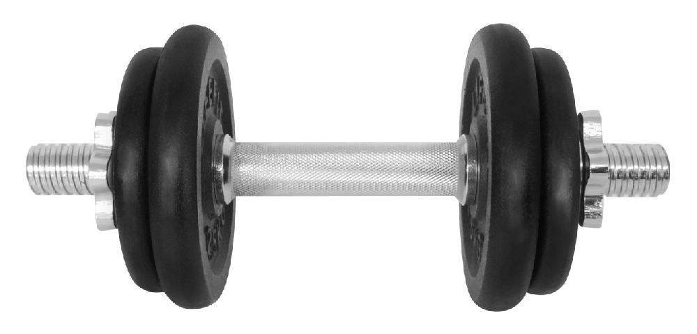Činka nakládací LIFEFIT jednoruční 10 kg, 30mm tyč/4x kotouč