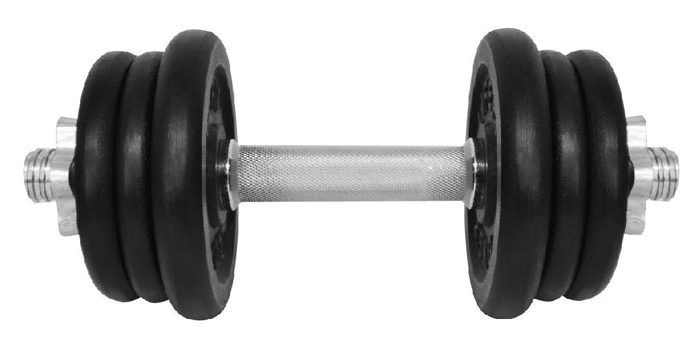 Činka nakládací LIFEFIT jednoruční 13 kg, 30mm tyč/6x kotouč