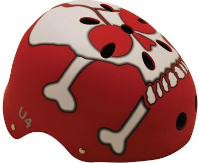 Helma na skate SULOV U4, červená