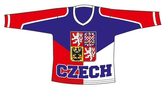 Hokejový dres ČR 3