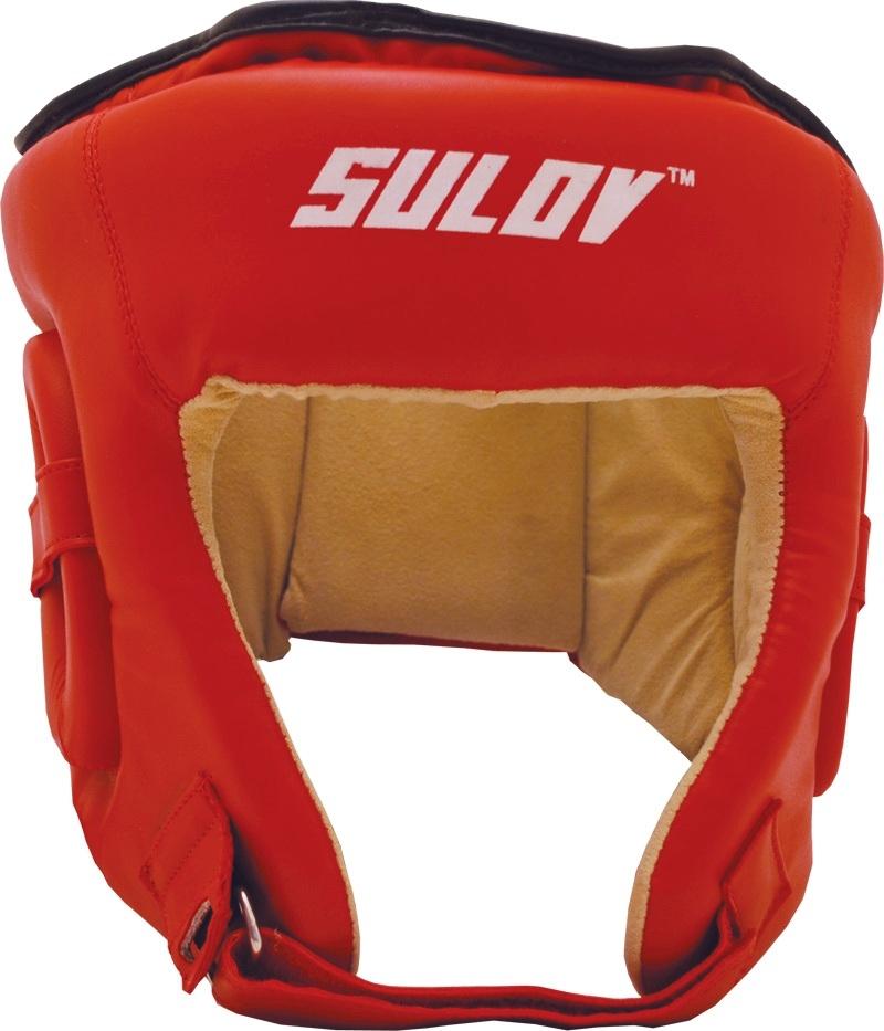 Box chránič hlavy otevřený SULOV DX - červený Velikost: L