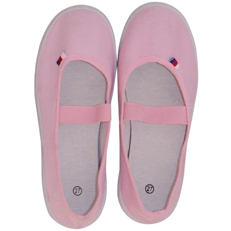 Cvičební obuv JARMILKY, růžové Velikost: 24,5