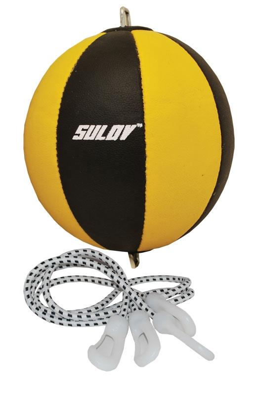 Box míč SULOV Split-štípaná kůže, dvojitý-Punchball