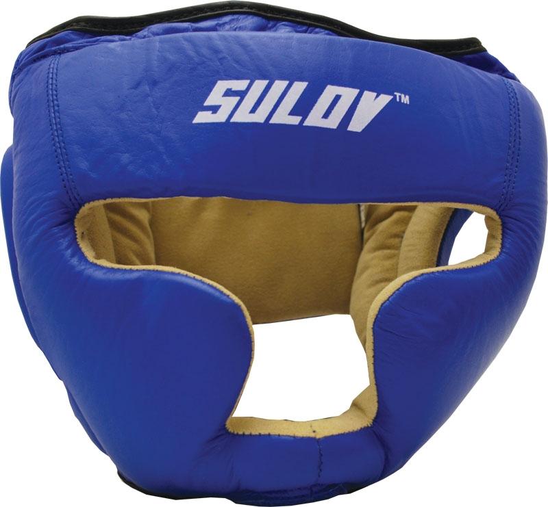 Chránič hlavy uzavřený SULOV kožený