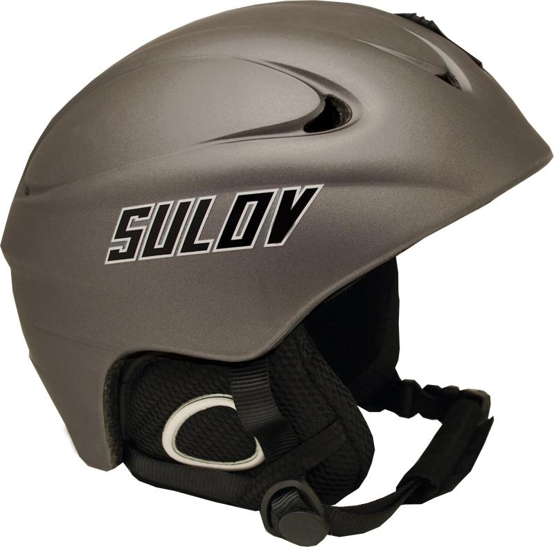Lyž.helma SULOV REVOLT šedá-stříbrná