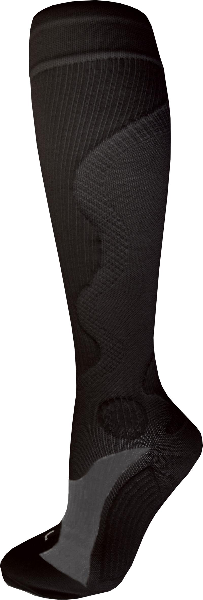 Kompr. ponožky Wave černé