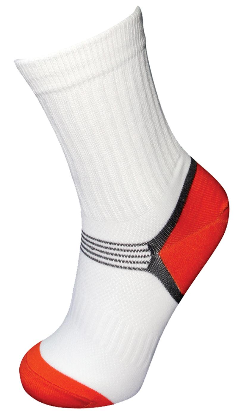 Sportovní ponožky bílé v.39-41