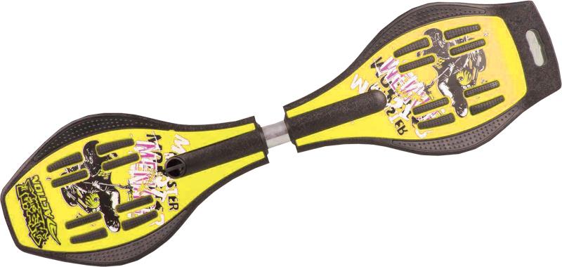 SNAKEBOARD žlutý